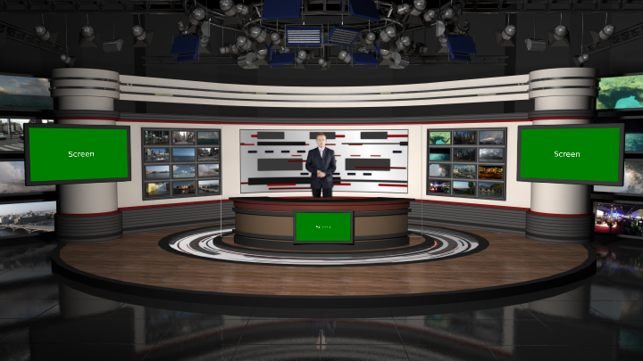 Virtual Set Studio 189