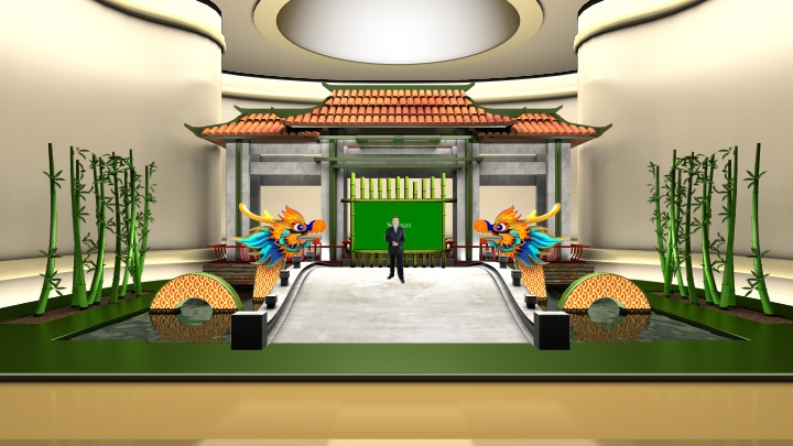 Dragon Boat Festival Virtual Set