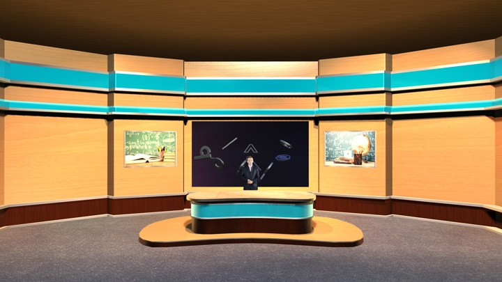 【TVS-2000A】 Educational Virtual Lecture Classroom Set