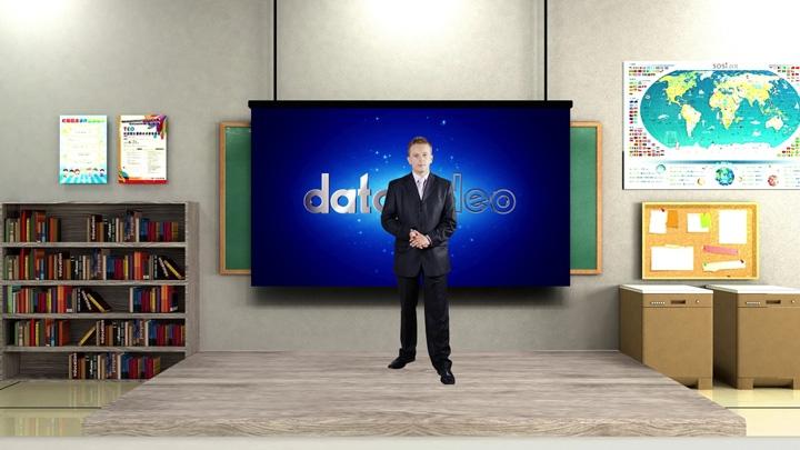 【TVS-3000】School Classroom virtual set