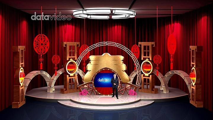 【TVS-3000】Chinese New Year Decoration Virtual Studio Set-2