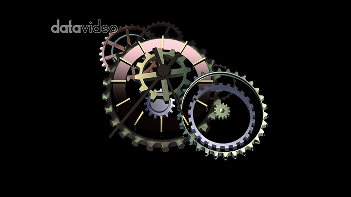 【TVS-3000_AR】gear clock
