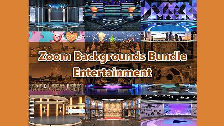 Zoom Virtual Backgrounds Bundle_Entertainment