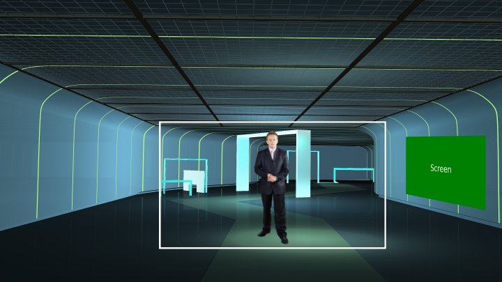 Indoor Tunnel Virtual Set