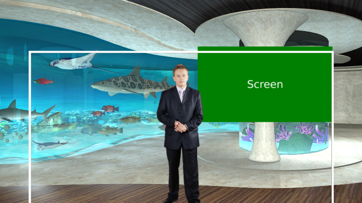 Aquarium Virtual Set