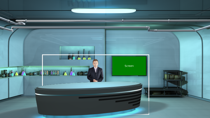 Chemistry Laboratory Virtual Set