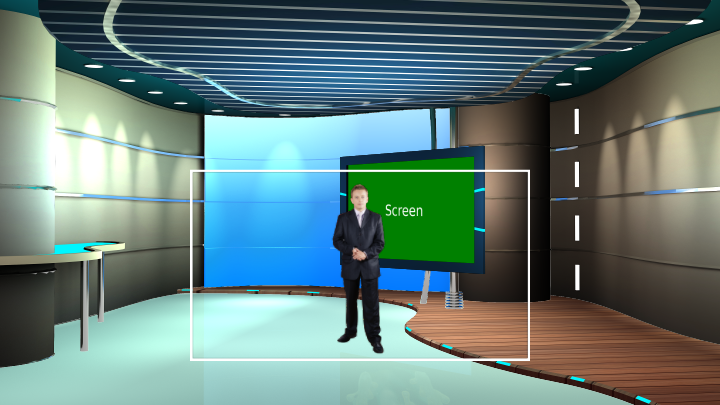 Ecology Talk Show Virtual Set