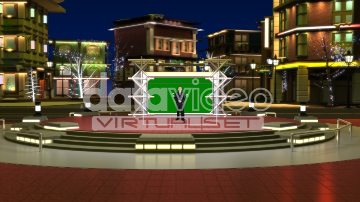 Outdoor Stage Virtual Set