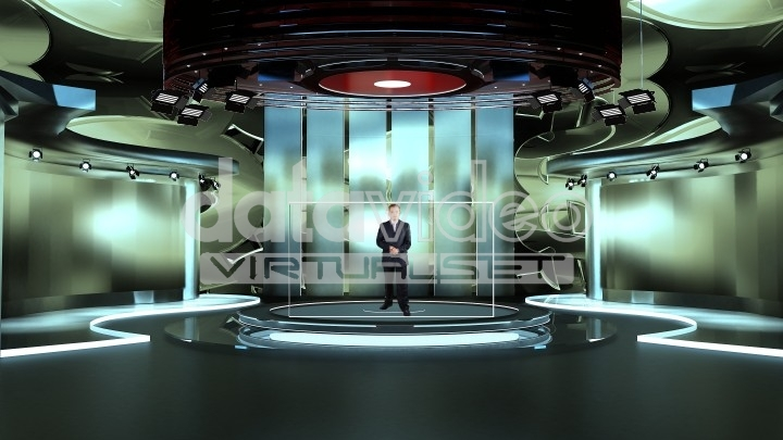 Modern and News Virtual set