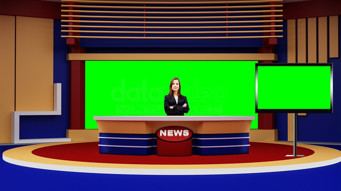 News 043 tv studio set virtual green screen background psd for Where can i get wallpaper for my room