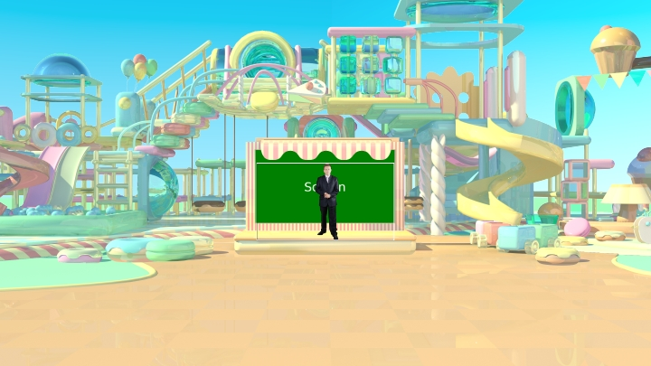 Dream Park Virtual Set
