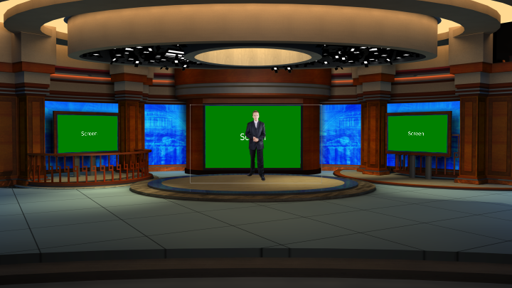 Virtual Set Studio 186