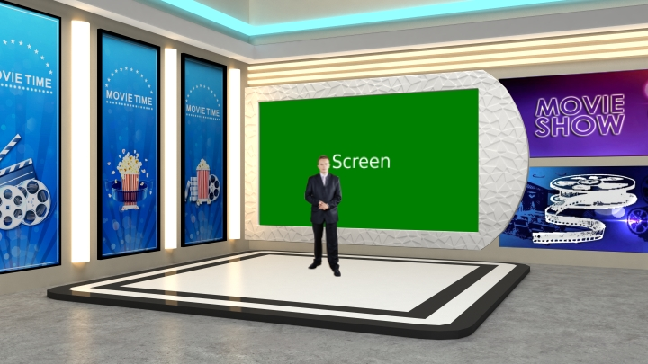 Movie Entertainment Type Programs Virtual Set Studio