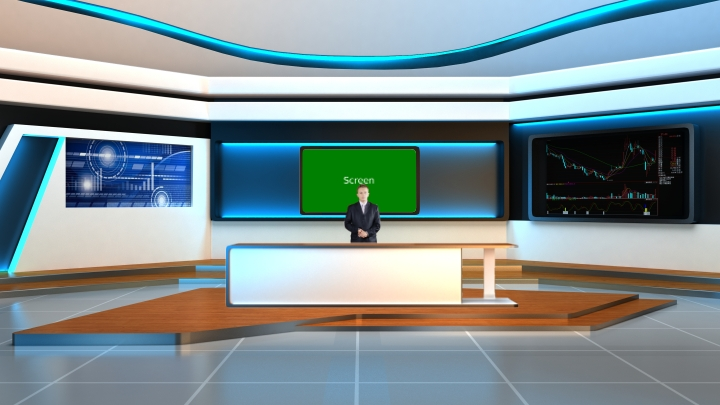 Financial News Virtual Studio