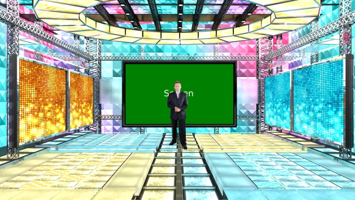 Fantasy Performance Stage Virtual Set