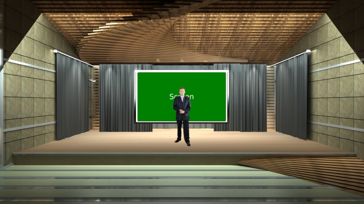 Speech Stage Virtual Studio