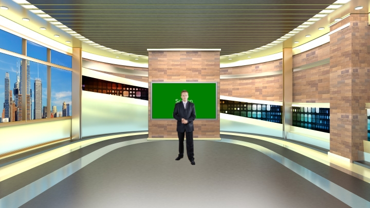 Arc Space Presentation Virtual Set