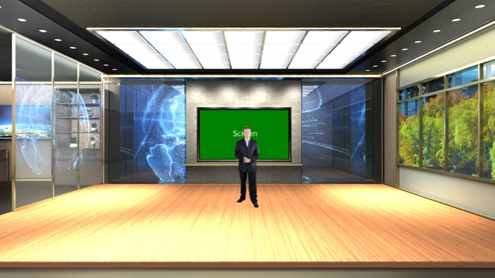 Virtual Meeting Room Studio