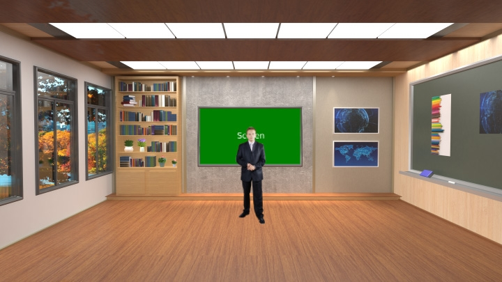 Virtual Learning Classroom studio